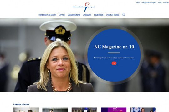 website 4en5mei.nl