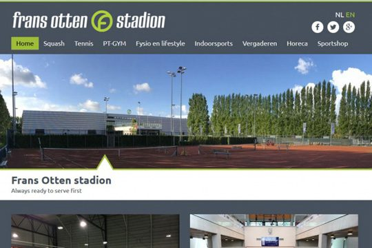website Frans Otten Stadion