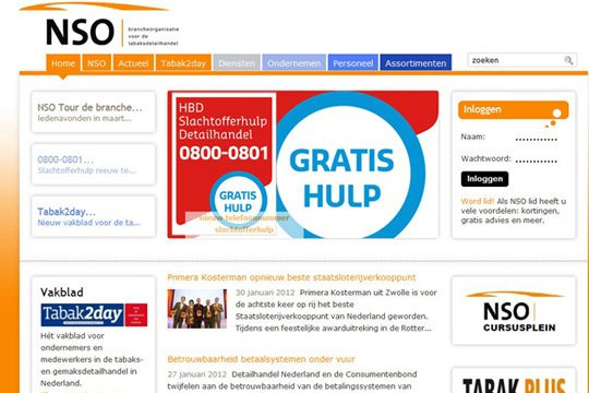 Website Tabaksdetailhandel
